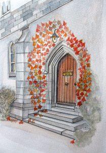 Presidents Door, UCC