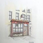 Dennehy's Bar on Cork's Corn Market Street (Coal Quay)