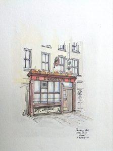 Dennehy's Bar on Cork's Corn Market Street (Coal Quay)