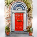 Georgian Doorway